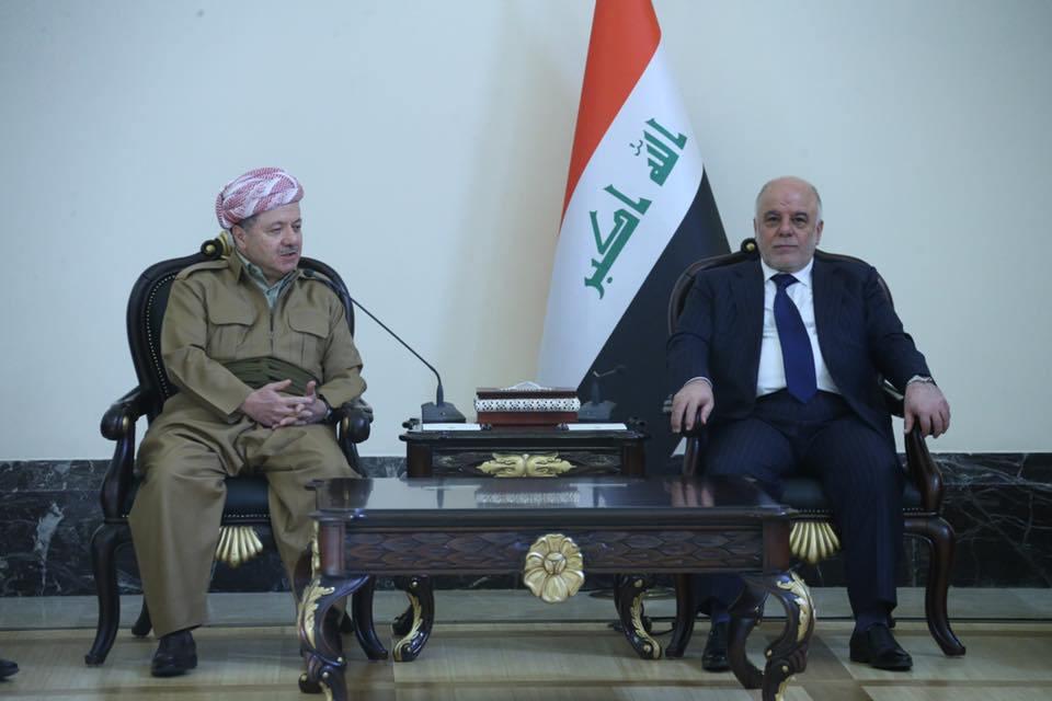 صحيفة تكشف تفاصيل اتفاقات بغداد واربيل: البيشمركة بإمرة العبادي وزيادة موازنة كردستان