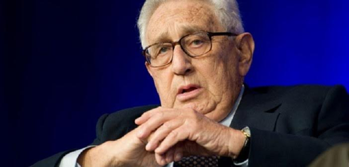 Henry Kissinger - Middle East war and will leave only one global power